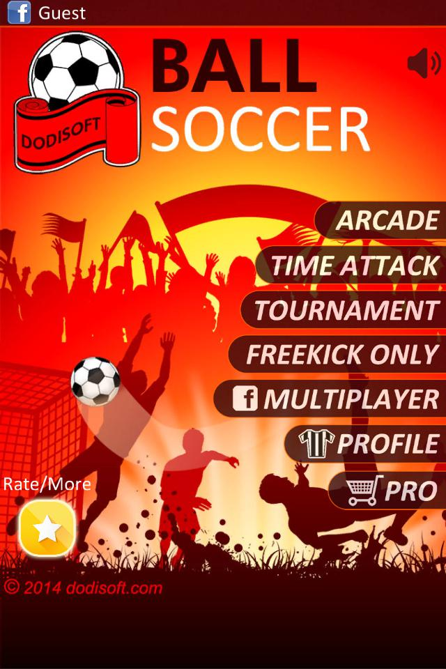 Ball Soccer (Flick Football) 游戏截图1