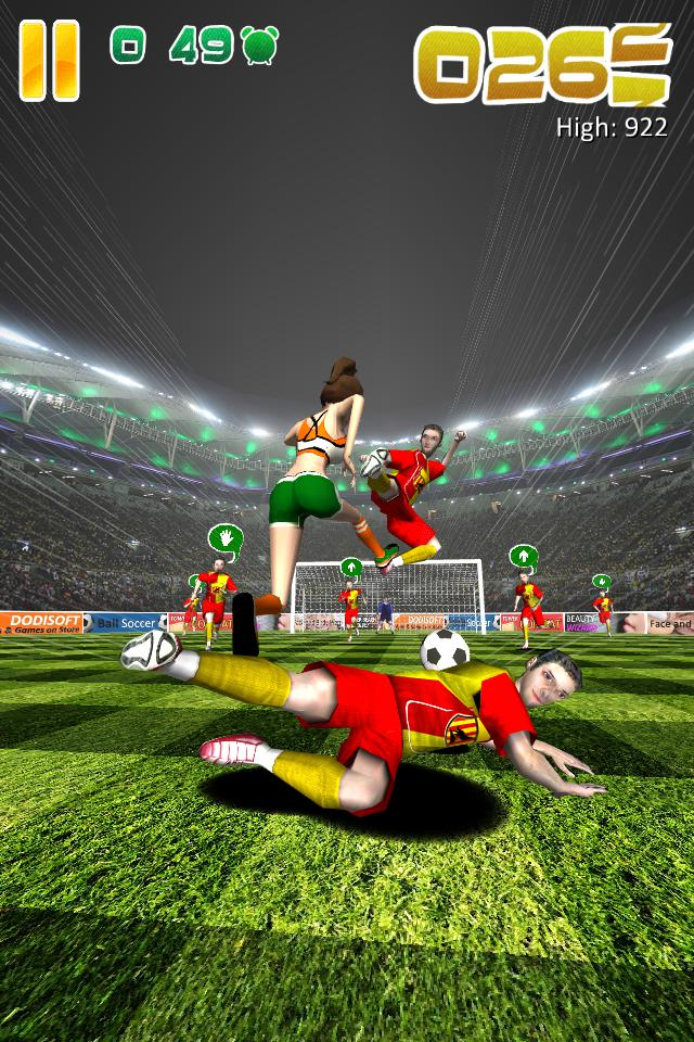 Ball Soccer (Flick Football) 游戏截图2