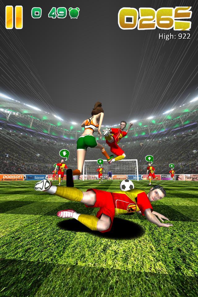 Ball Soccer (Flick Football) 游戏截图2