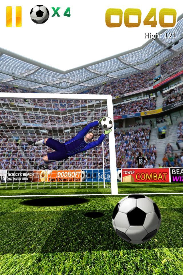 Ball Soccer (Flick Football) 游戏截图3