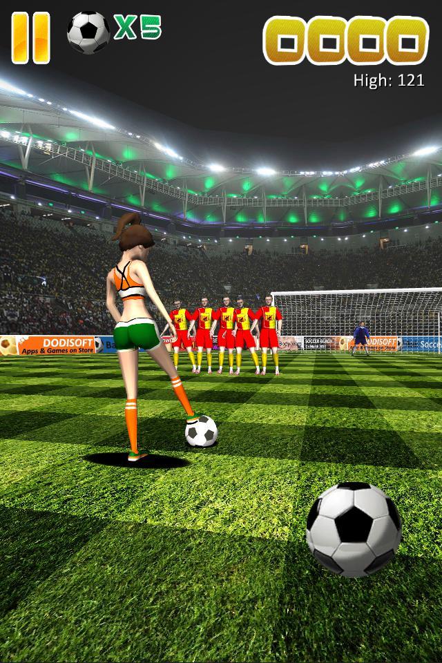 Ball Soccer (Flick Football) 游戏截图4