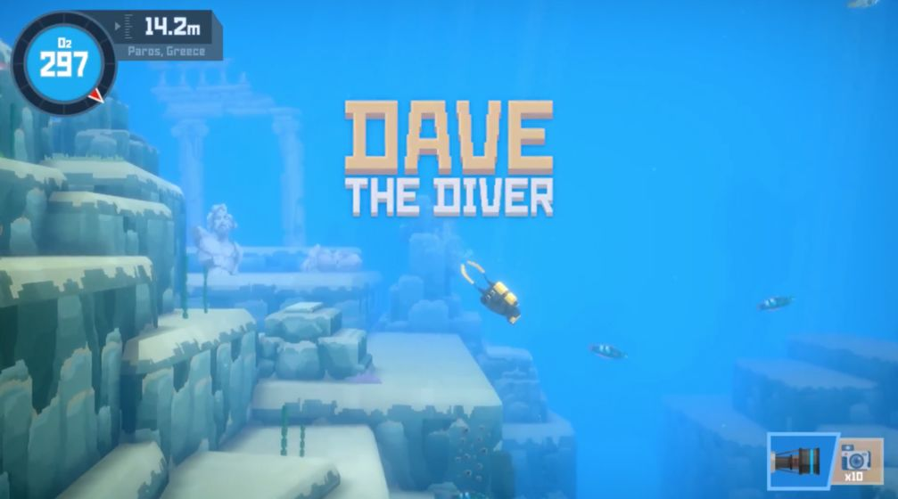 Dave The Diver 游戏截图1
