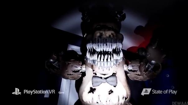 吓尿!《玩具熊的午夜后宫》开发者发布VR续作