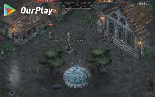 吸血鬼的堕落:三人独立开发的高分暗黑RPG游戏 图片3