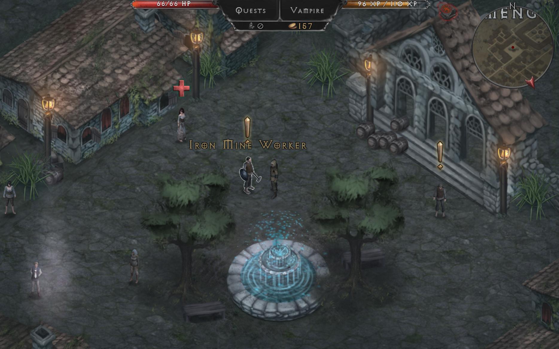 吸血鬼的堕落:三人独立开发的高分暗黑RPG游戏