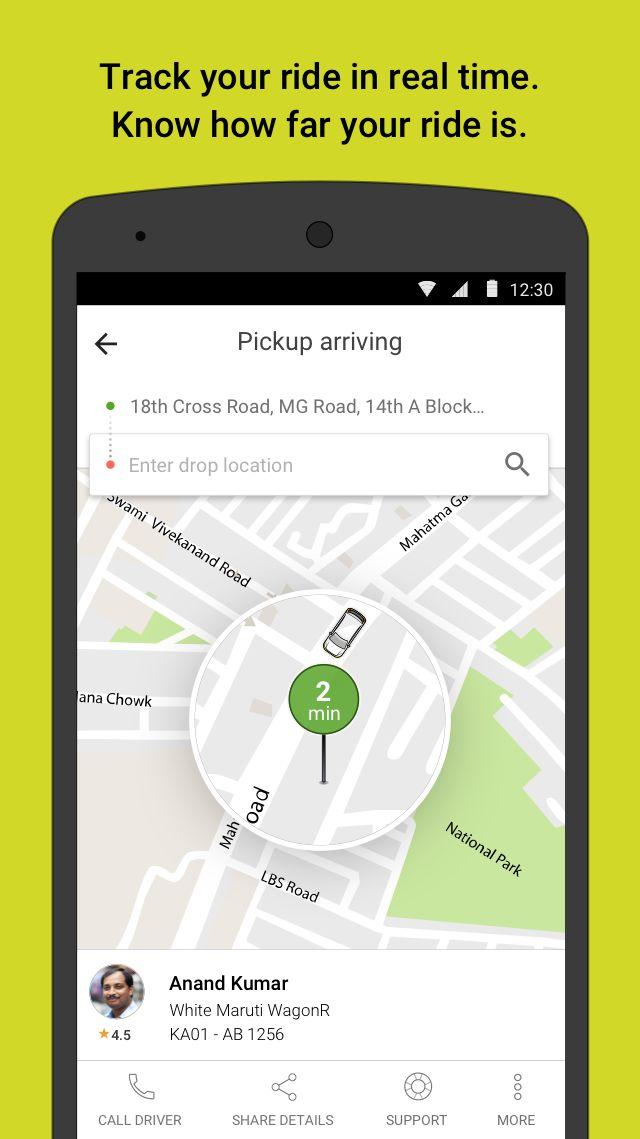 Ola. Get rides on-demand 游戏截图3