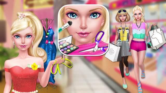 时尚娃娃:购物日SPA ❤ 美妆游戏