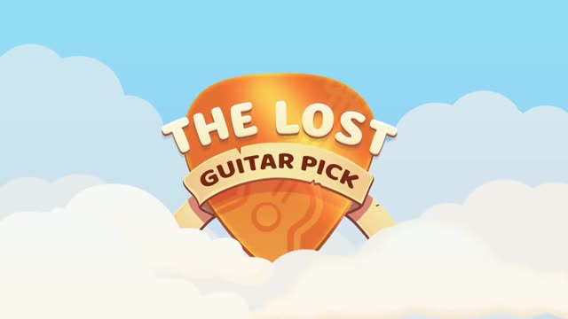 The Lost Guitar Pick