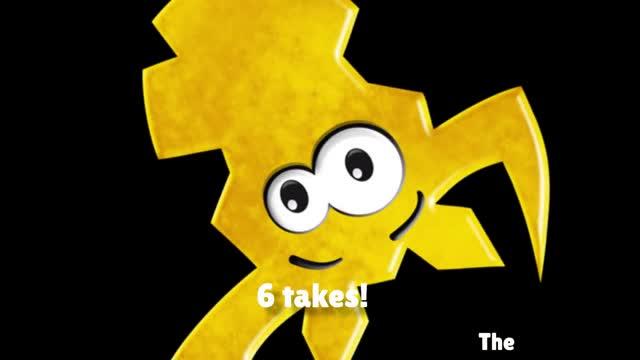 6 takes!