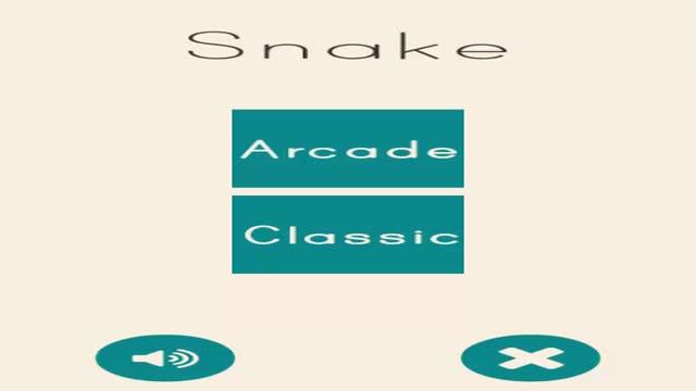 蛇经典:街机游戏