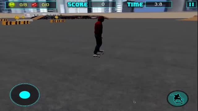 滑板特技游戏2017