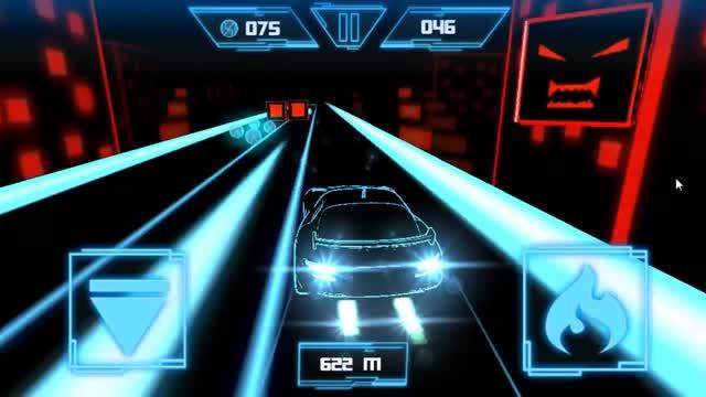 Race 3D: Neon Light
