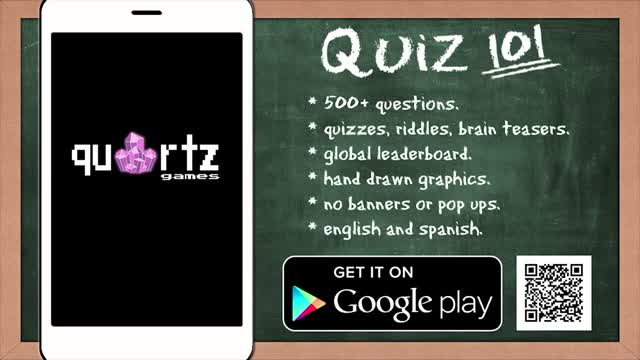 QUIZ 101: FREE quiz game you can play OFFLINE.