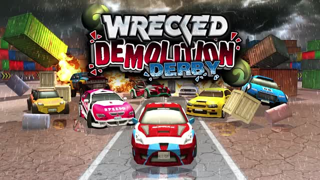 WRECKED DEMOLITION DERBY - FREE CAR GAMES