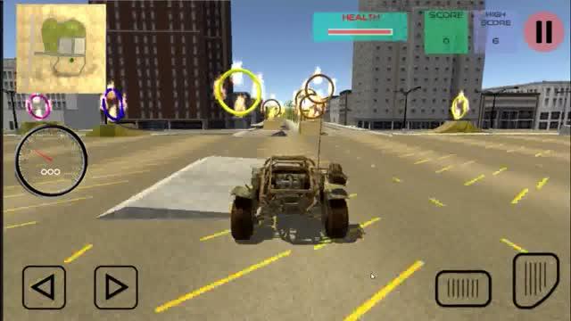 Buggy Go卡丁车司机3D - 特技赛车