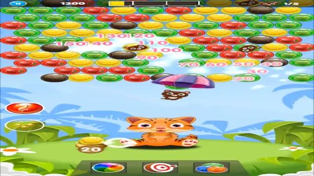 Cats Bubble Pop : Cat bubble shooter rescue game