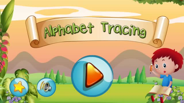 ABC learning and tracing with Phonic for kids