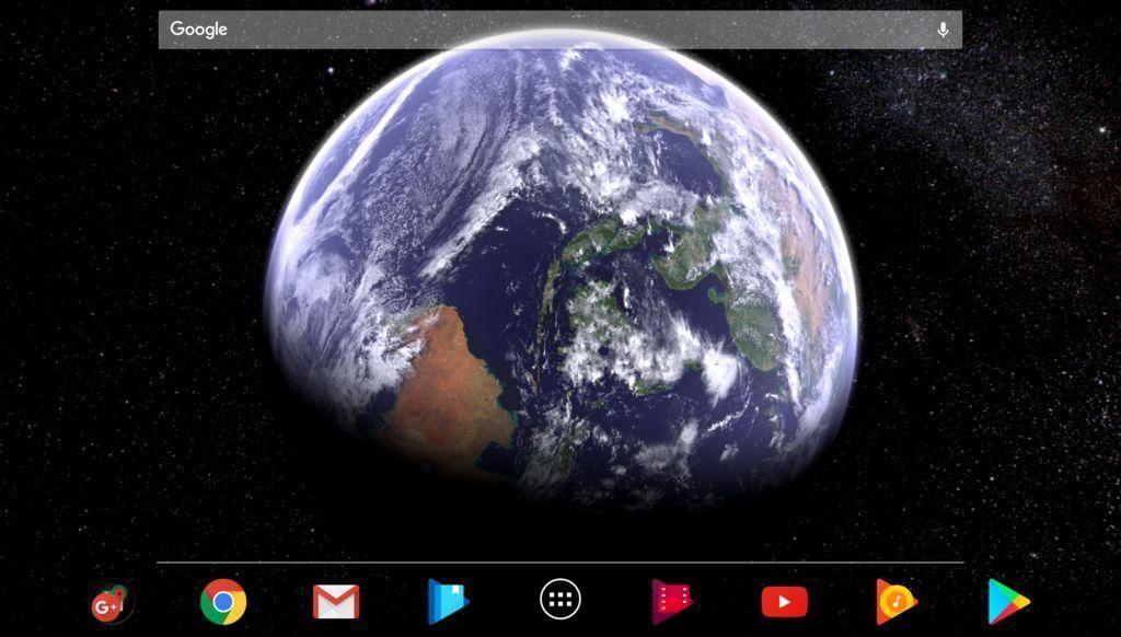 Earth & Moon in HD Gyro 3D Parallax Live Wallpaper 游戏截图3