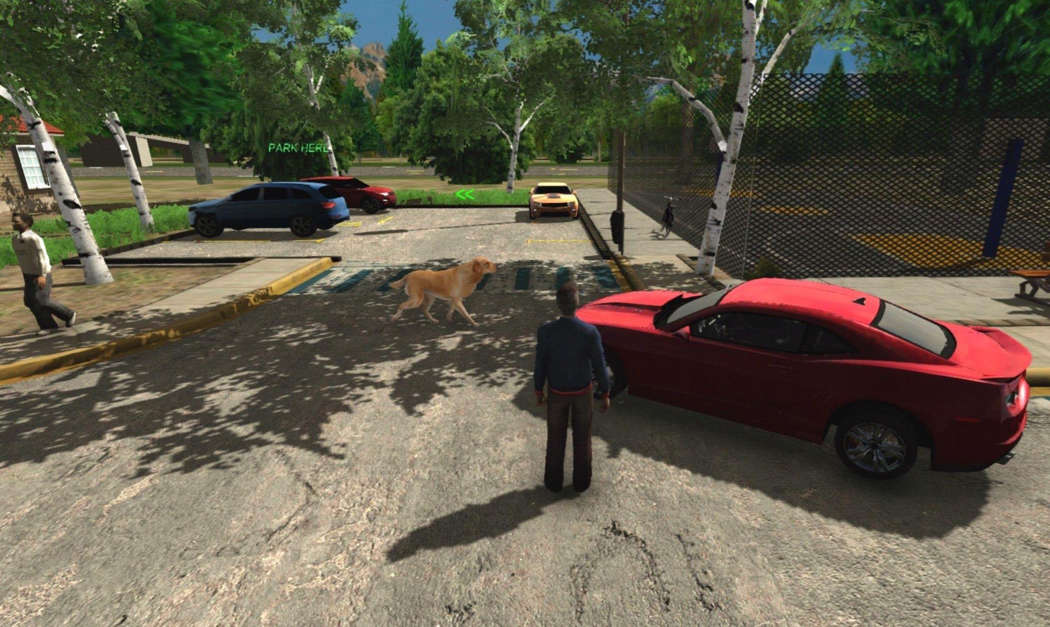 手动挡停车场 HD(Real Car Parking HD) 游戏截图1