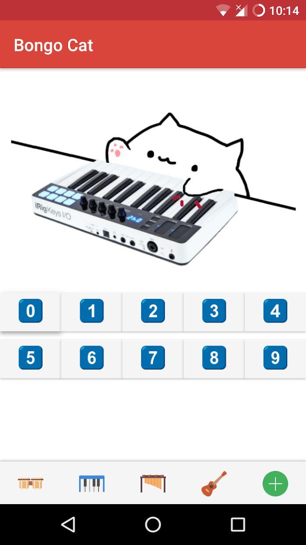 Bongo Cat - 乐器 游戏截图2