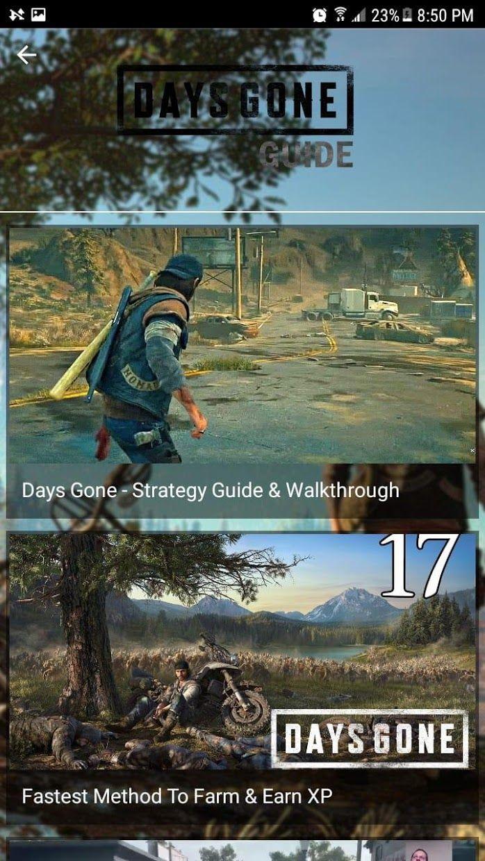 Days Gone Guide 游戏截图2