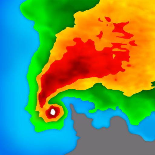 实况天气预报与气象雷达