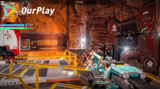 无尽行动:堪称《泰坦陨落》手游版,画质炸裂的科幻射击对战游戏 图片2
