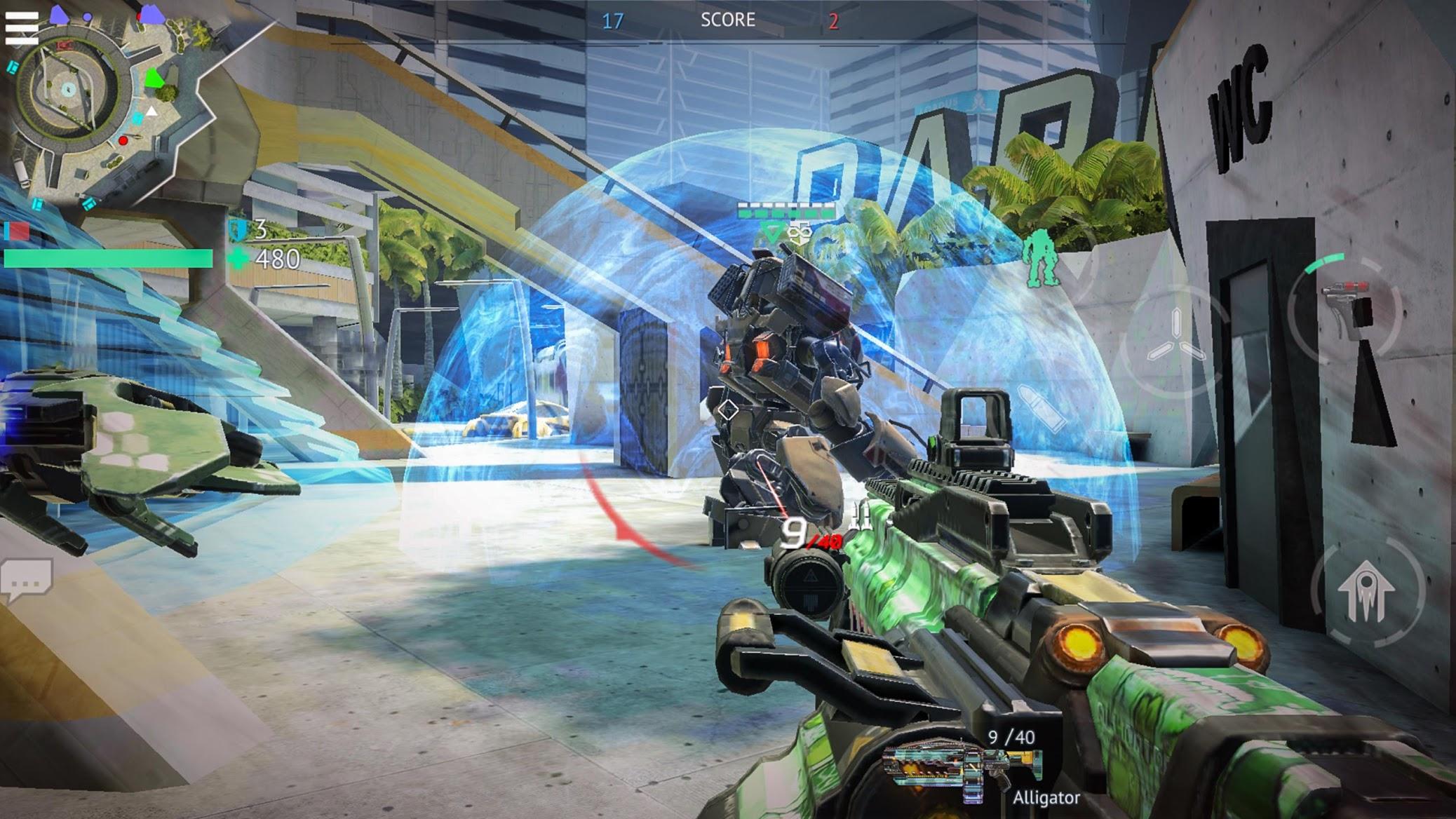 无尽行动:堪称《泰坦陨落》手游版,画质炸裂的科幻射击对战游戏
