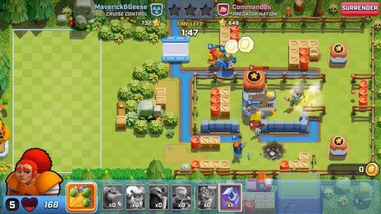 突突兵团:Supercell带来的一款比《皇室战争》节奏更快的策略游戏 图片3
