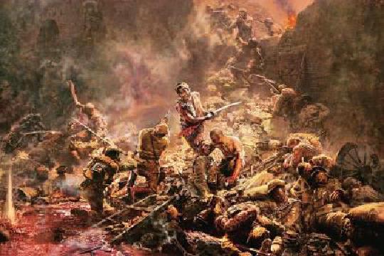 战争艺术选择种族问题