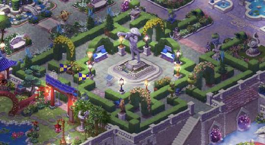梦幻花园19级