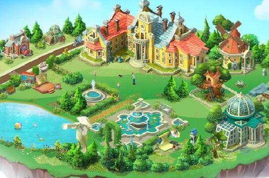 梦幻花园第八个区域