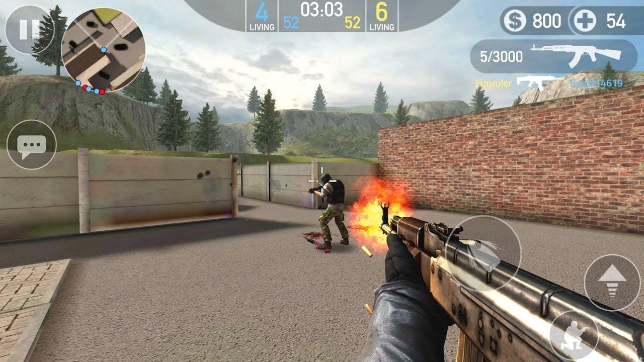 《前锋突袭》,手机上的轻量版CS:GO,体验公平的FPS竞技