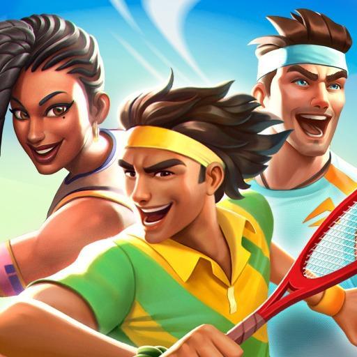 网球传奇:3D 运动 - 免费多人游戏