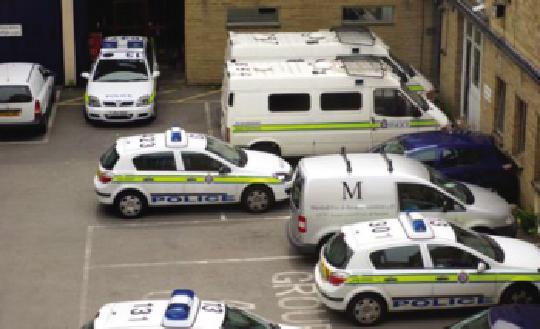 手动挡停车场警察模式