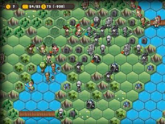 军团战棋警戒区域 在没有视野的地区