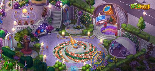 梦幻花园新区域群岛