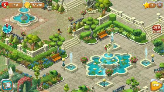 梦幻花园打不开新区域