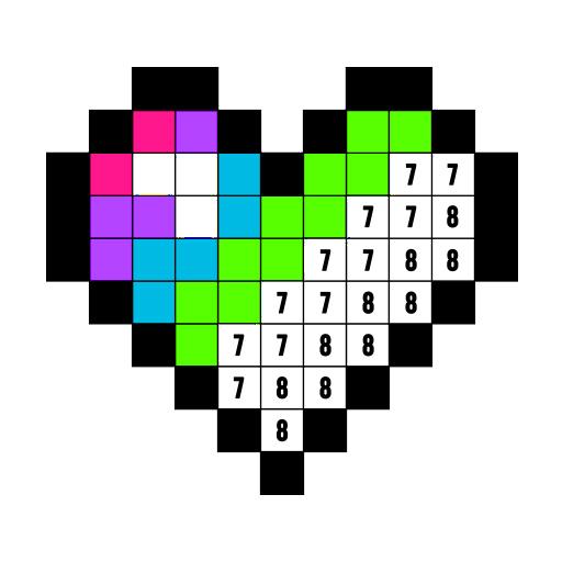 数字填色:免费着色本 (Color by Number)