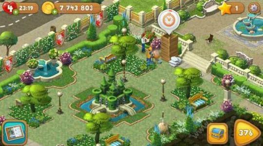 梦幻花园21亿星星教程