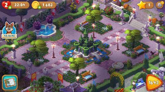 梦幻花园解锁全景图片
