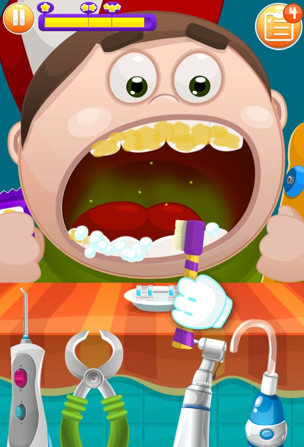 Doctor Teeth fixed- Dentist games for kids 游戏截图1