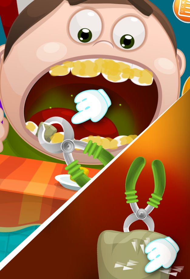 Doctor Teeth fixed- Dentist games for kids 游戏截图5