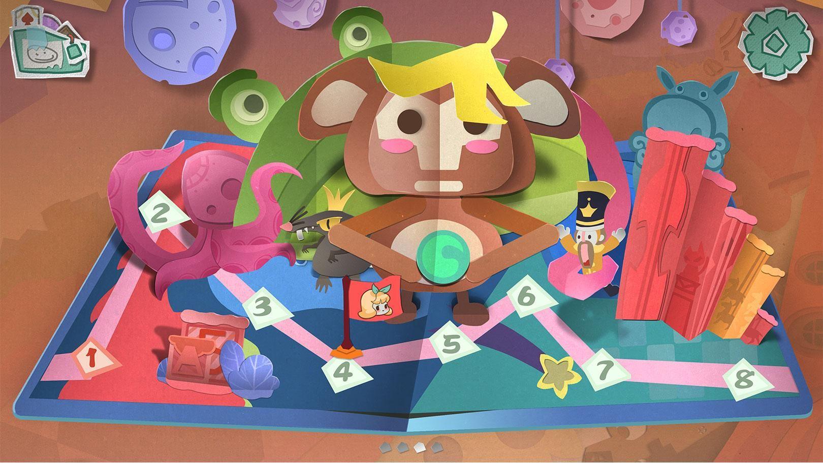 纸片少女 游戏截图2