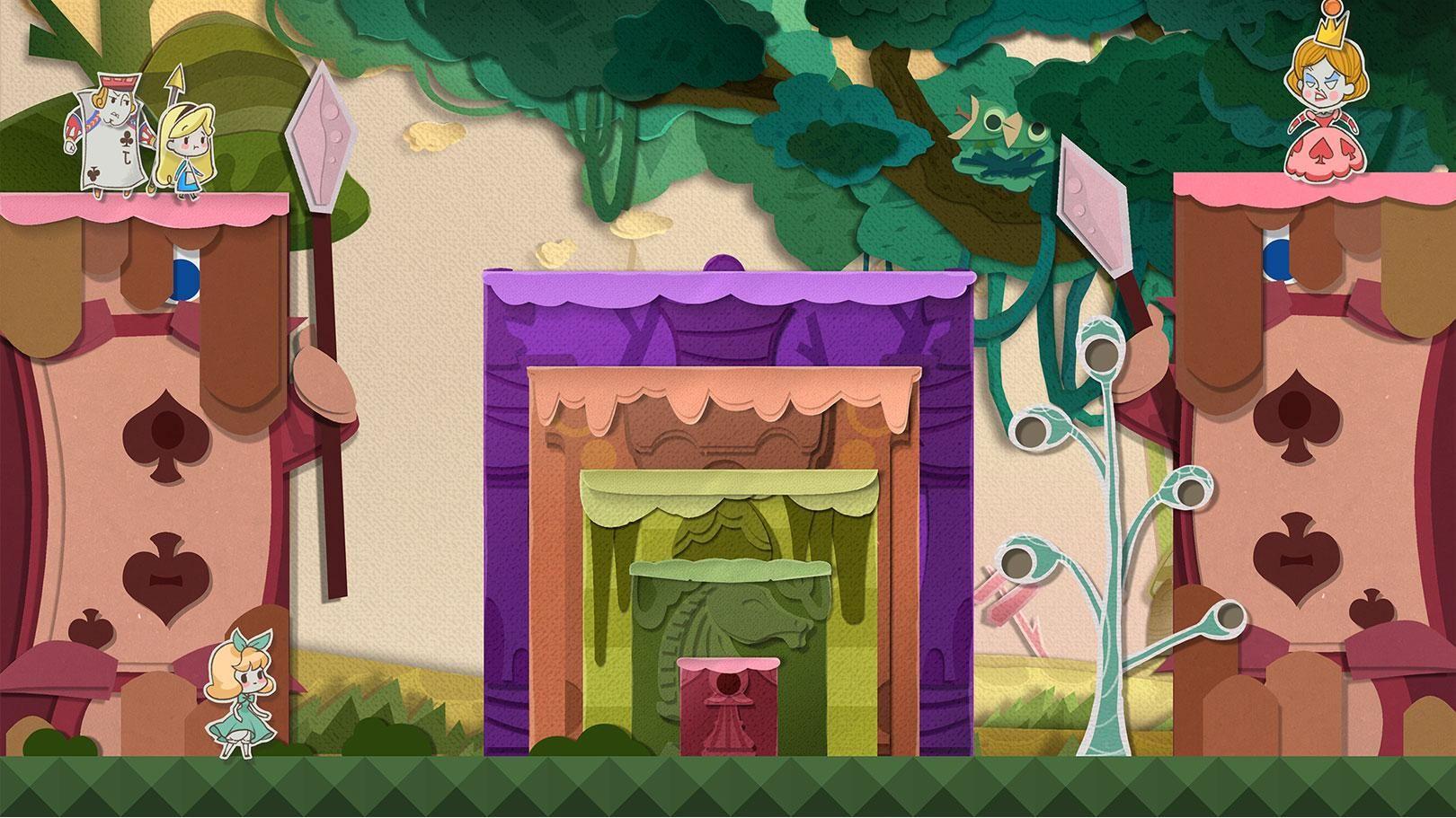 纸片少女 游戏截图4