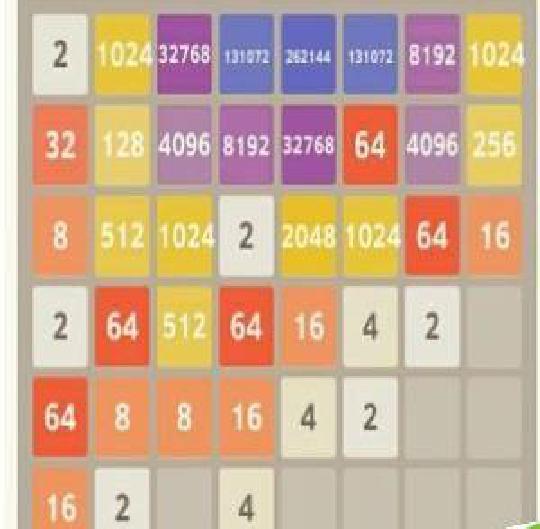 游戏玩爆2048