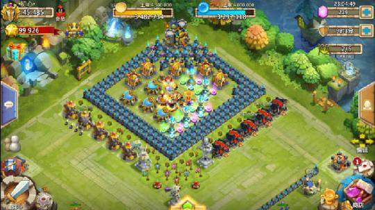 城堡争霸团队防守
