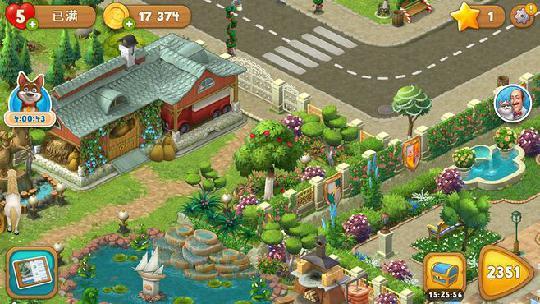 梦幻花园打开新区域一直更新