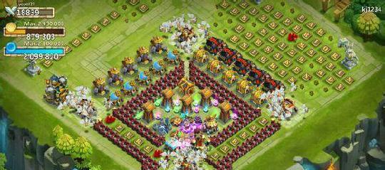 城堡争霸7本阵型