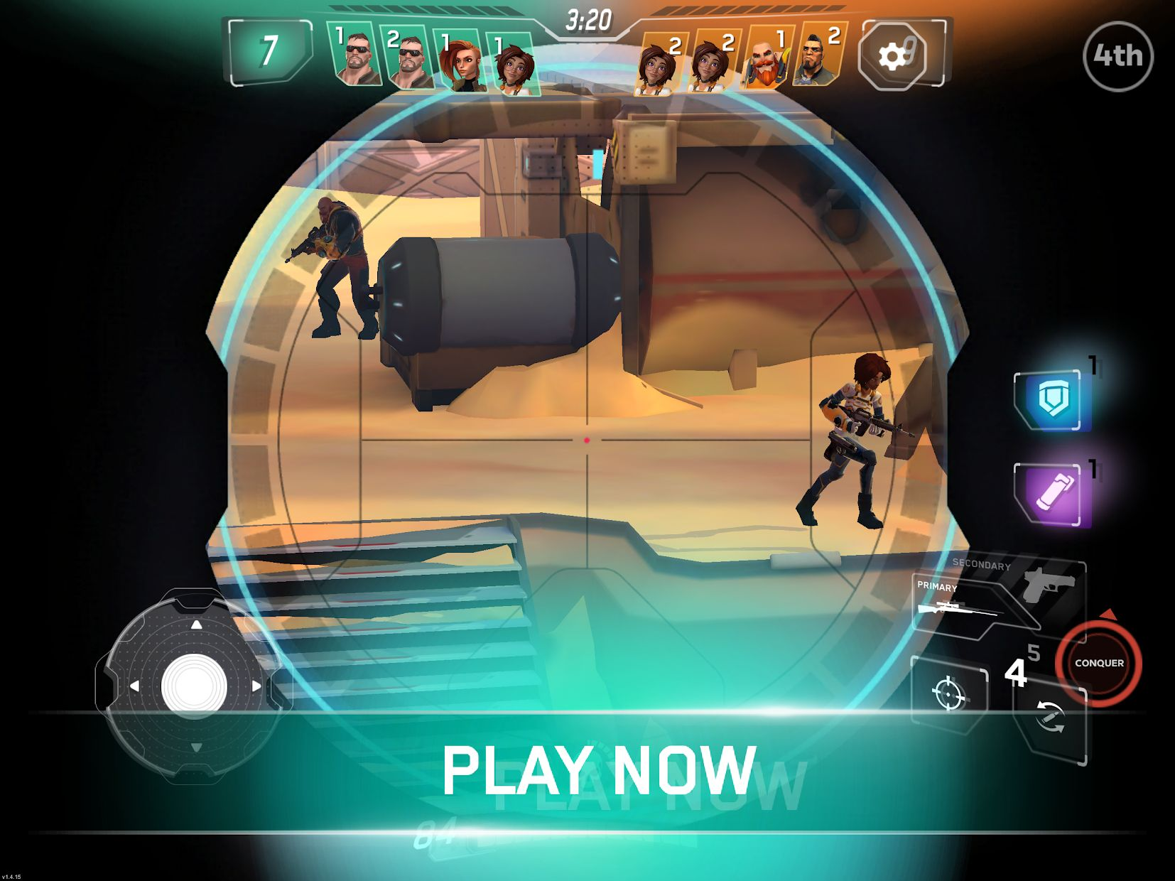 Rise: Shooter Arena 游戏截图3